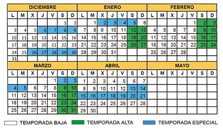 CalendarioClasesCurso